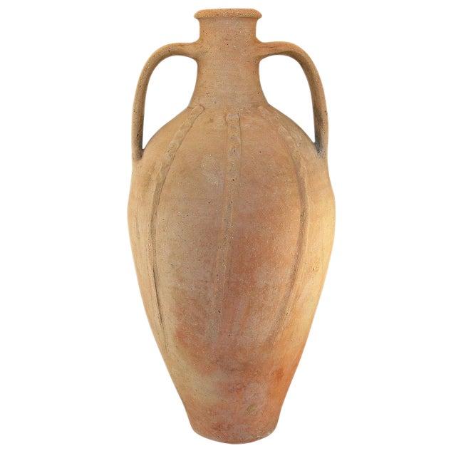 Rug & Relic Vintage Mediterranean Earthenware Jug - Image 1 of 4