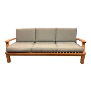 Ventana Ravello Teak Outdoor Sofa For Sale