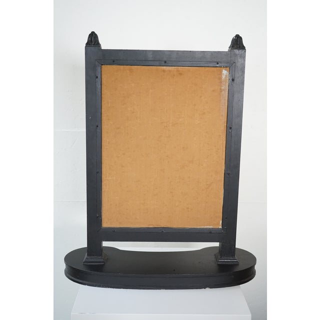 Antique Triptych Mirror For Sale - Image 4 of 10