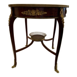 François Linke Table, France Circa 1880. For Sale