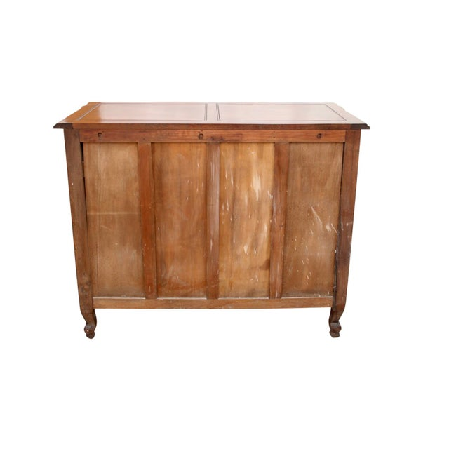 Wood 1980s French Carved Provincial Dresser For Sale - Image 7 of 8