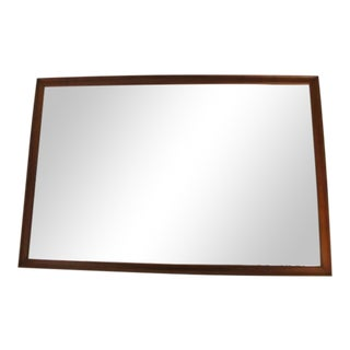 Walnut Mirror by Kipp Stewart for Drexel For Sale