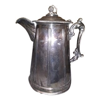 1858 Meridian Brita Double-Walled Water Pitcher For Sale