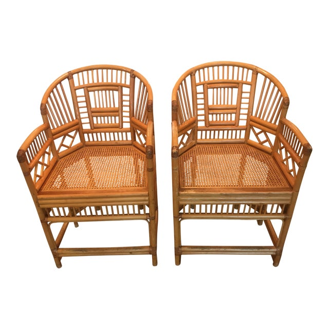 Vintage Brighton Chairs - A Pair - Image 1 of 4