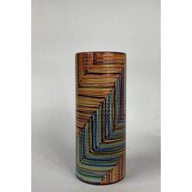 Ceramic Hand Painted Vignoli Faenza Ceramic Pottery For Sale - Image 7 of 7