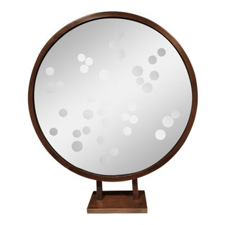 Arteriors Bubble Mirror on Stand For Sale