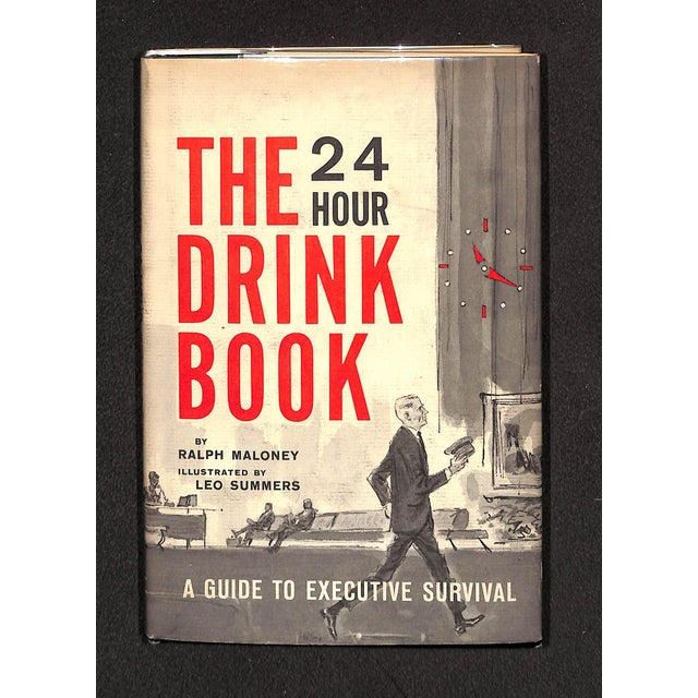 """The 24 Hour Drink Book: A Guide to Executive Survival"" Book For Sale In New York - Image 6 of 6"