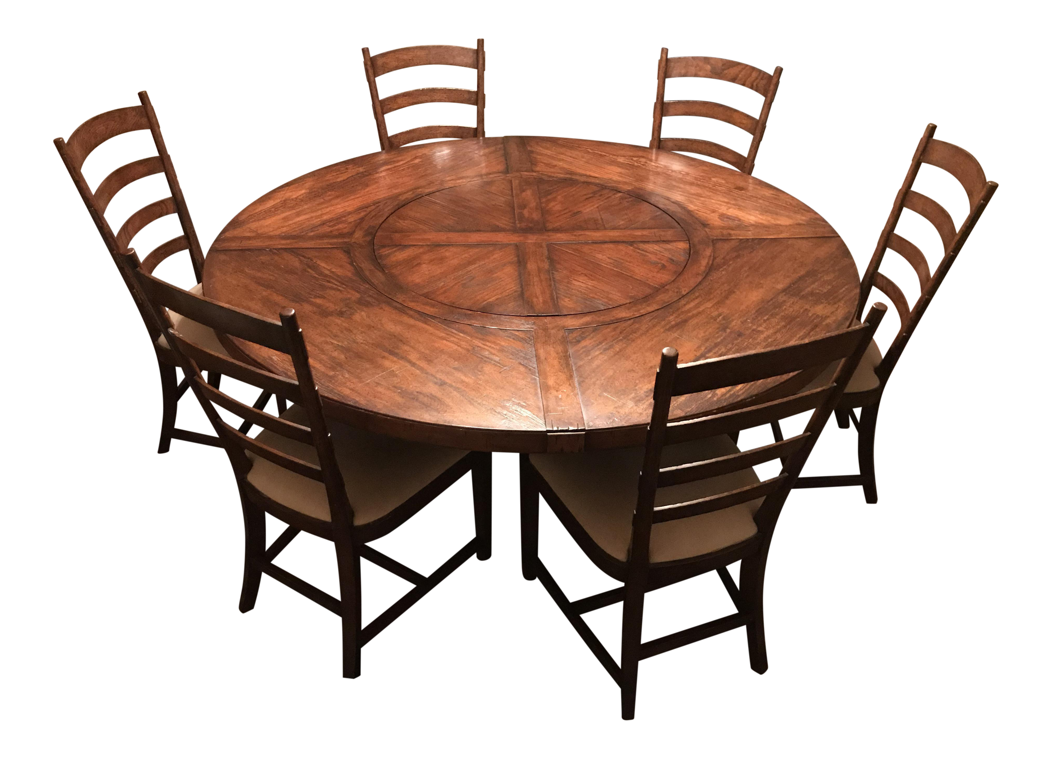 Jonathan Charles Round Dining Room Table And Chairs Dining Set