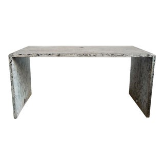 Modern Waterfall Table / Desk For Sale