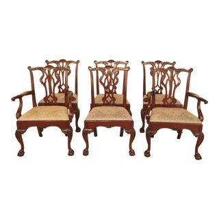 Stickley Winterthur Chippendale Dining Room Chairs - Set of 6