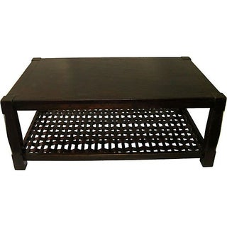 1960s Coffee Table with Magazine Rack