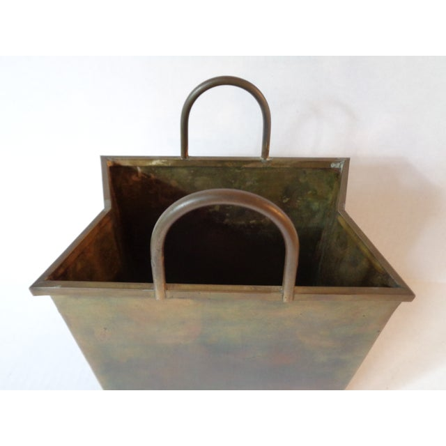 Italian Brass Shopping Bag - Image 4 of 5
