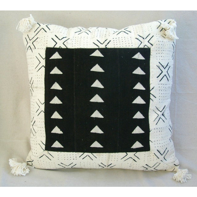 Handwoven African Tribal Textile Pillows - Pair - Image 5 of 10