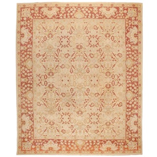 Antique 19th Century Indian Amritsar Carpet For Sale