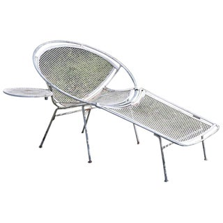Salterini Radar Lounge Chair With Table Surface For Sale