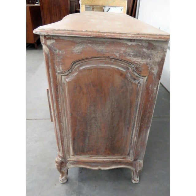 Paint Auffray Country French Distressed Painted Dresser For Sale - Image 7 of 12