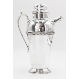 1930s Art Deco Silver Plate Cocktail Shaker Preview