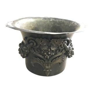 Antique Iron Pot For Sale