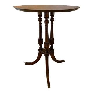 Mersman Three Leg Pedestal Table For Sale