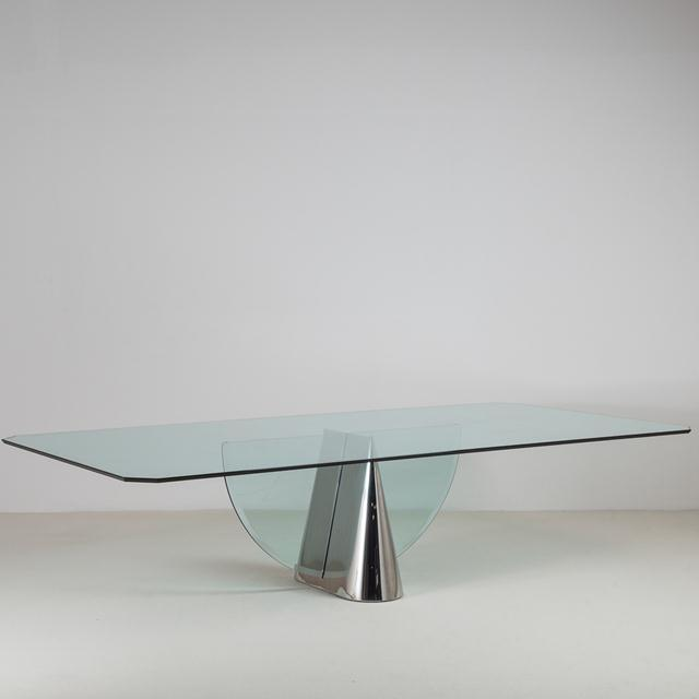 Mid-Century Modern Pinnacle Dining Table by J Wade Beam for Brueton 1970s For Sale - Image 3 of 3