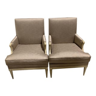 Hickory Chair Rachel Chairs- A Pair For Sale