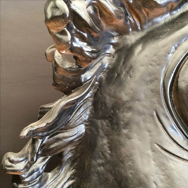 Monumental Horse Head Sculpture For Sale - Image 10 of 11