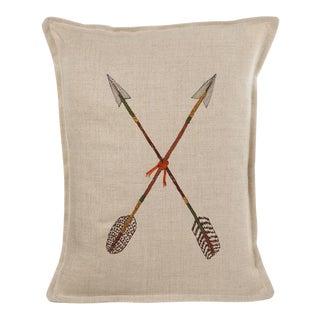 Crossed Arrows Pillow