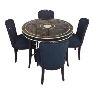J. Robert Scott -Upholstered Chairs - Set of 4 For Sale