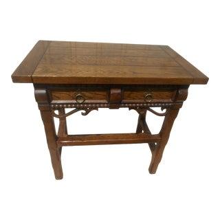 Gorgeous Baker Furniture Tudor Nightstand For Sale