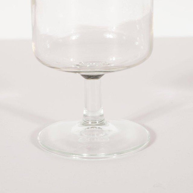 Dorothy Thorpe Midcentury Drinks Glasses by Dorothy Thorpe - Set of 6 For Sale - Image 4 of 6