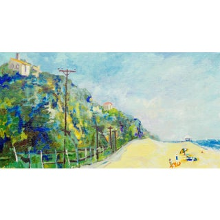 Contemporary Painting, California Beach For Sale