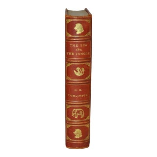 """h.m. Tomlinson """"The Sea and the Jungle"""" First Edition W/ Woodcuts by Clare Leighton C.1930 For Sale"""