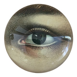 John Derian Eye Dome Paperweights- a Pair For Sale