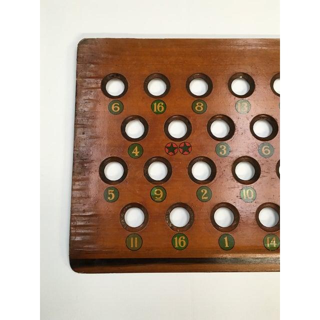 1938 Keeno Star Reversible Gaming Board - Image 8 of 10