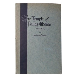 The Temple of Pallas Athenae, Georges Lewys For Sale