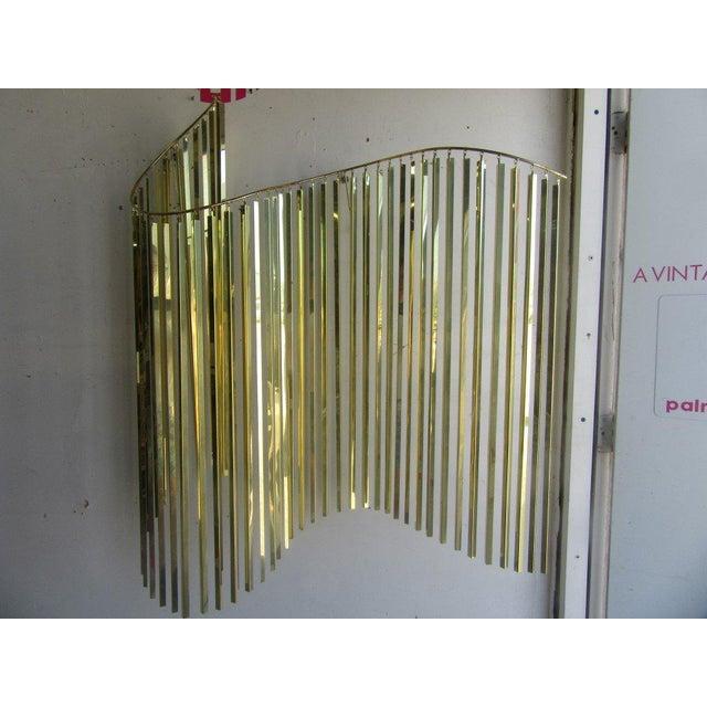 Modern Brass Wall Sculpture - Image 6 of 6