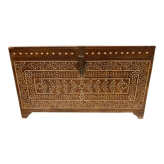 Mid-Century Moroccan Chest/Trunk For Sale