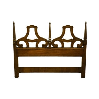 Late 20th Century Drexel Heritage Esperanto Collection Queen Size Headboard For Sale
