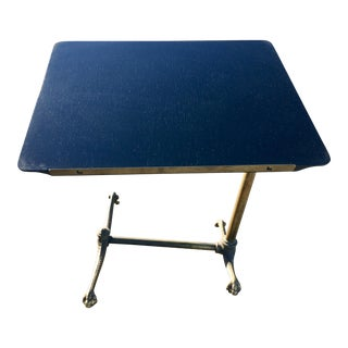 Antique Cantilever Tilt-Top Book Stand For Sale