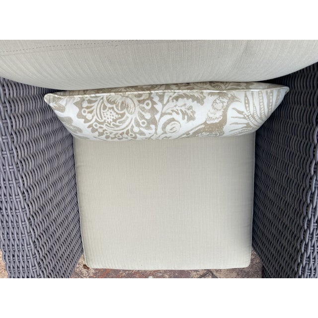 Patio Furniture by Janus Et Cie- 3 Pieces For Sale - Image 11 of 12