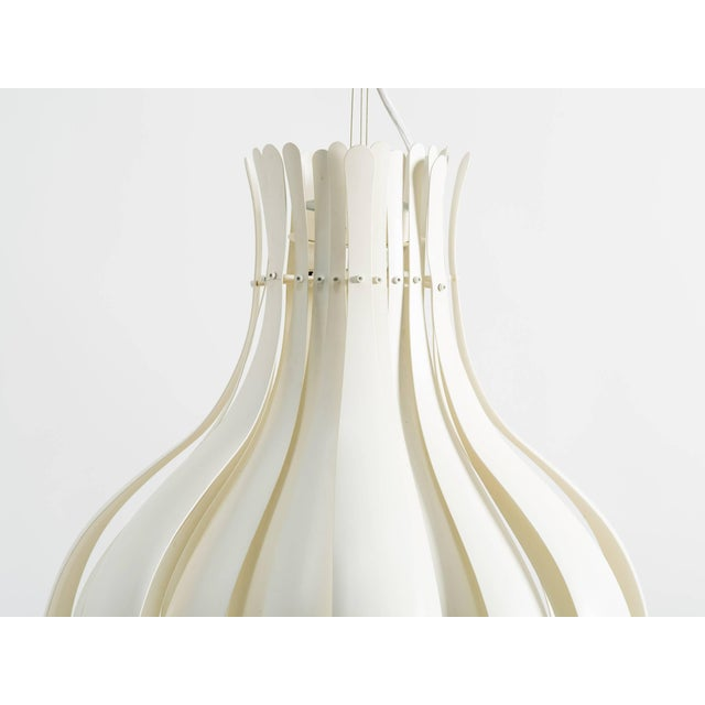 Contemporary Large Verner Panton Onion Pendants - a Pair For Sale - Image 3 of 9
