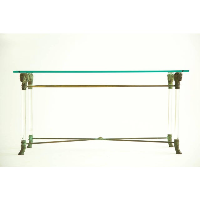 Hollywood Regency Lorin Jackson Console For Sale - Image 3 of 9