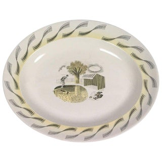Eric Ravilious Wedgwood Garden Series Platter with Swimmers