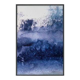 """""""Brilliance"""" Contemporary Abstract Original Print, Framed For Sale"""