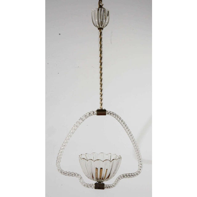 Murano Fixture by Barovier E Toso For Sale - Image 9 of 9