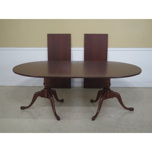 Eldred Wheeler Solid Cherry Dining Room Table