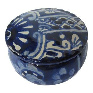 Blue & White Decorative Jewelry Box