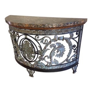 Maitland-Smith Iron Console