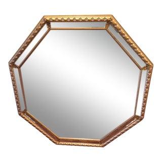 Oversized Gold Gilt Mirror