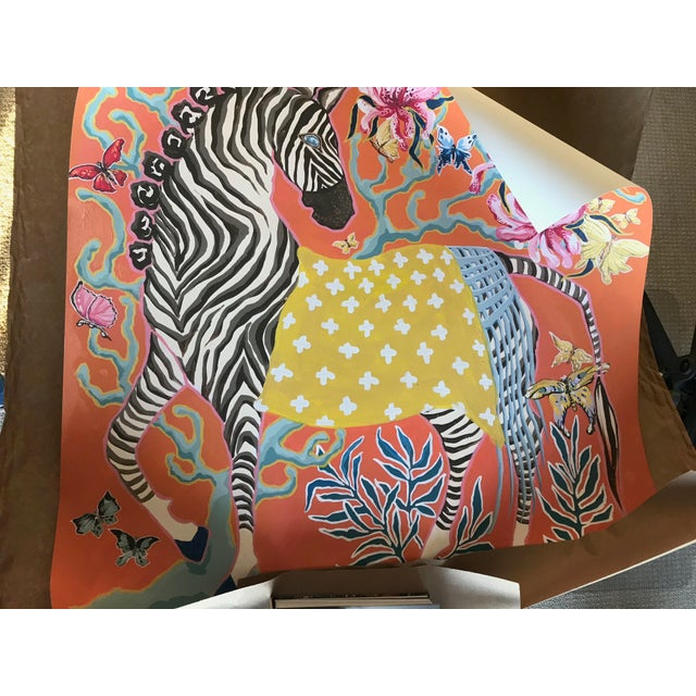 Traditional Zebra Print by Paige Gemmel For Sale - Image 3 of 3